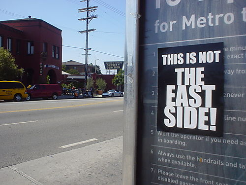 Eastside silver lake sign