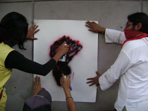 Marcha graffiti