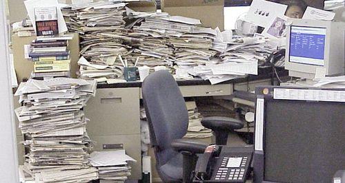 Reporters desk