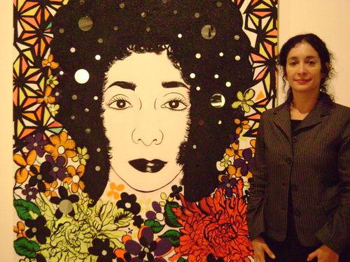 Carolyn castano self-portrait