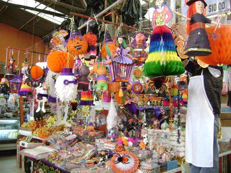 Dia de muertos mercado san juan arcos de belen
