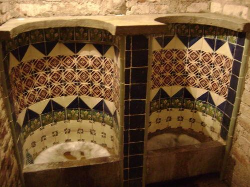 Tiles urinal puebla
