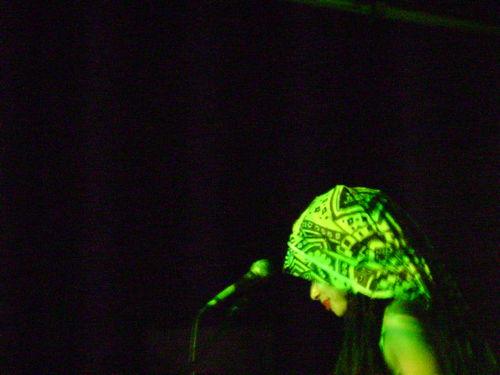 Moyenei onstage at alicia