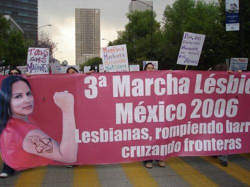 Marcha lesbica 2006