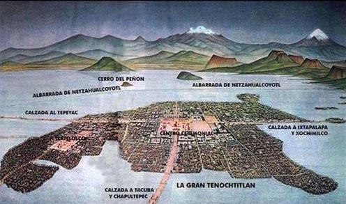 Mexico lago de texcoco