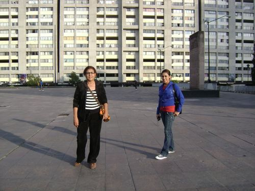 Mom and erika tlatelolco