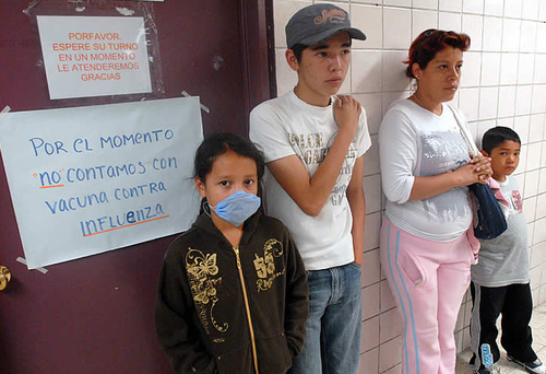 Swine flu epidemic mexico city