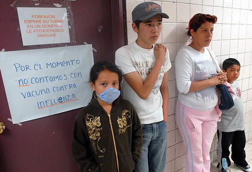 Swine flu epidemic mexico city