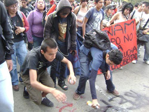 Mexico city 1968 marcha