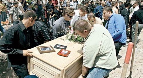 Bejamin lebaron funeral