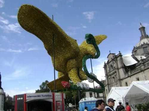 Aguila en el centro sept 2009