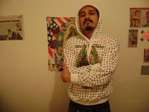 San judas sweater by uriel urban