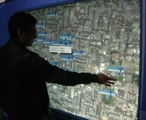 Telmex wifi locations