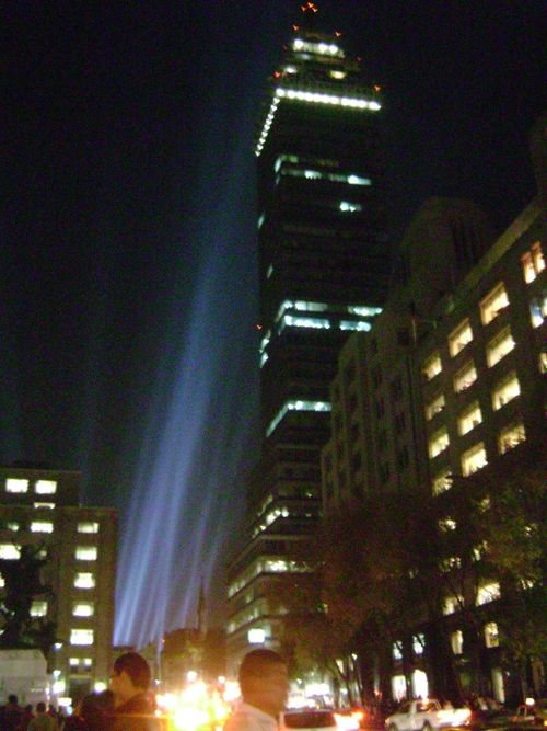 Torre latino centro light show