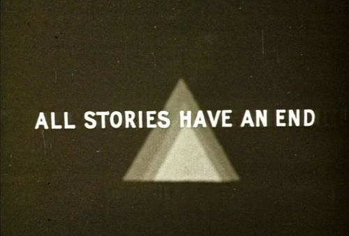 All stories have an end