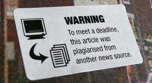Journalism warning label 5