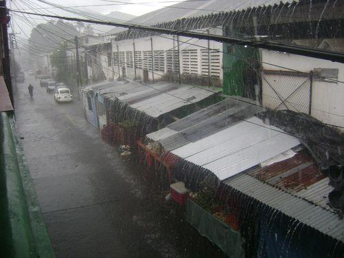 Santiago tuxtla rain