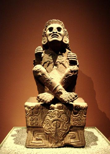 Xochipilli statue aztec