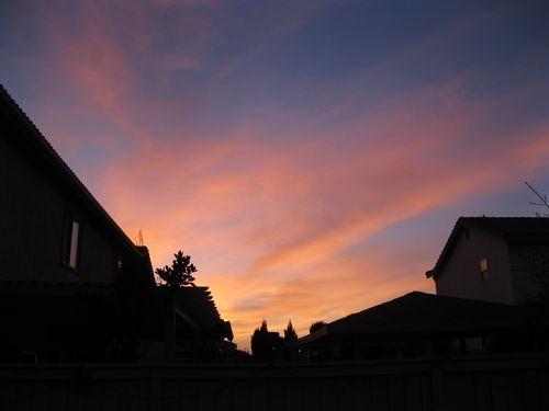 Sunset san ysidro