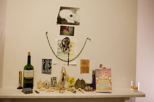2011 feb William Dunleavy altar with book