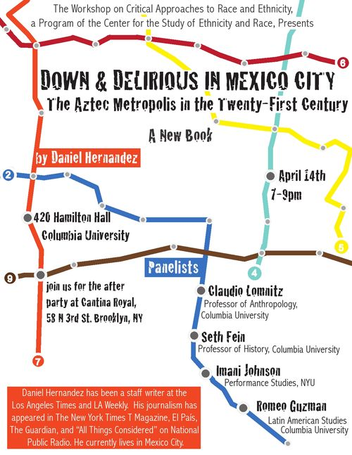 Down delirious columbia flier 2011