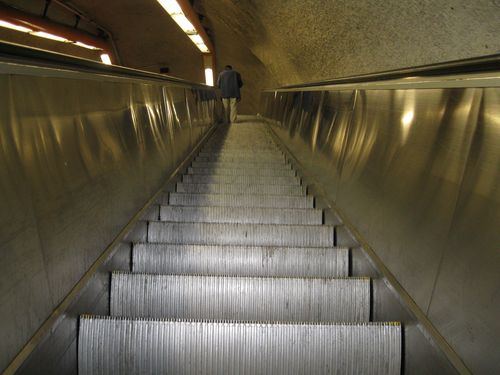 Escalator tacubaya