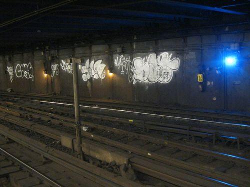 Subway graffiti harlem