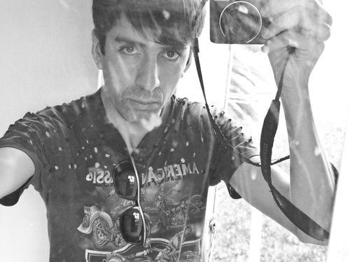Cesar Arellano selfportrait
