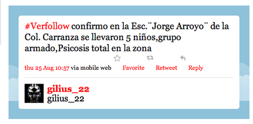 Twitter terrorist veracruz tweet