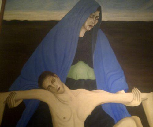 Rodriguez lozano piedad desierto detail