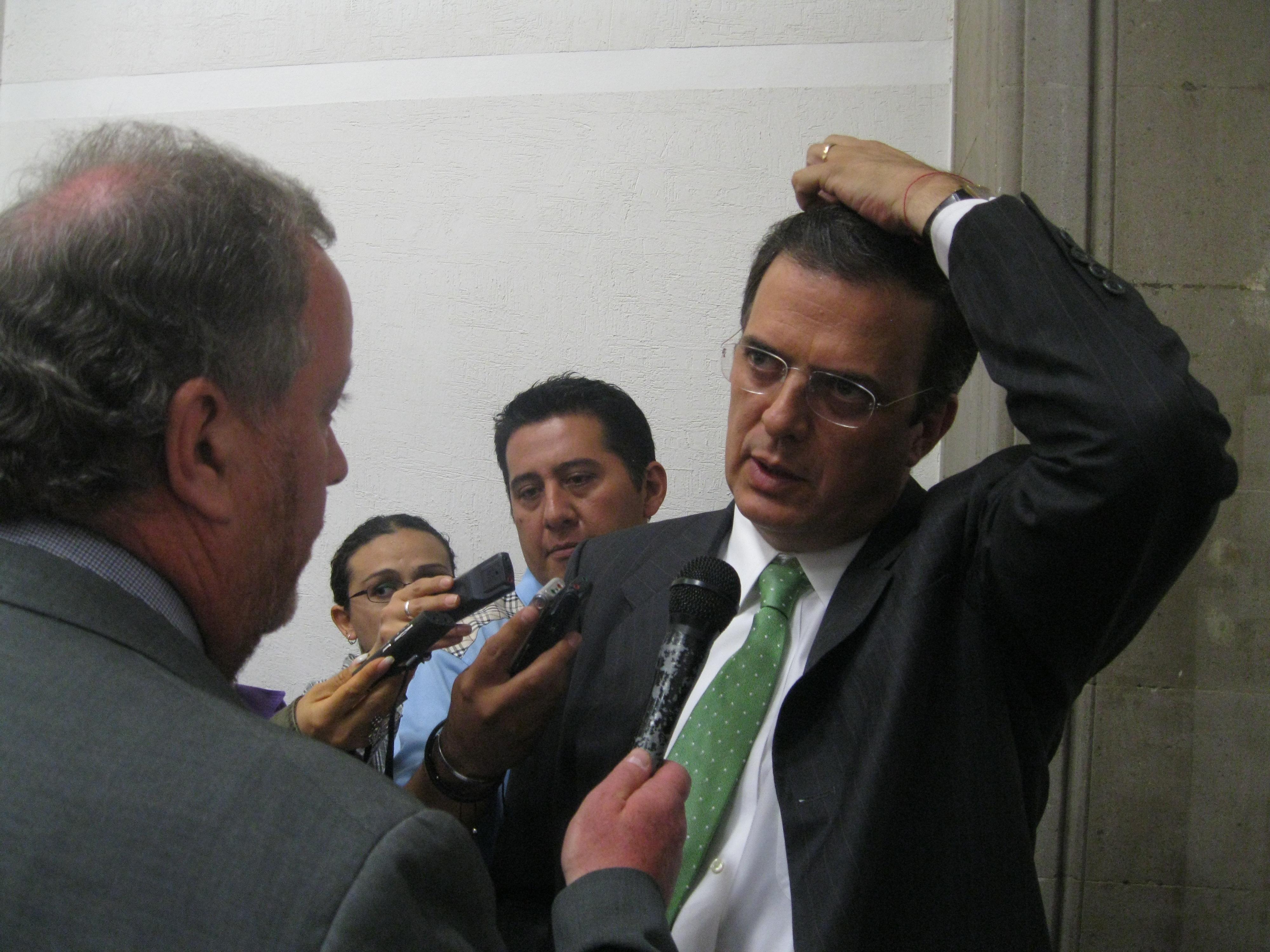 Ebrard Mexico City Mexico City Mayor Marcelo