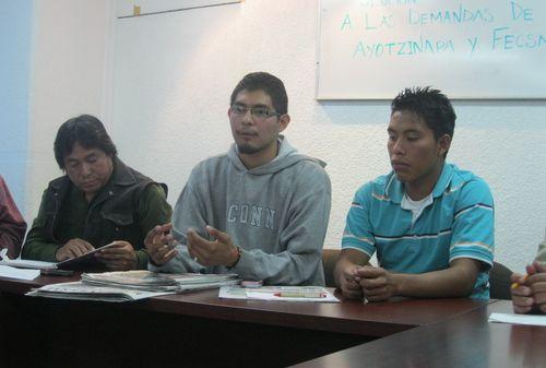 Student demonstrator guerrero mexico daniel hernandez latimes