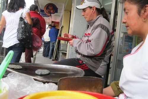Street vendor mexico