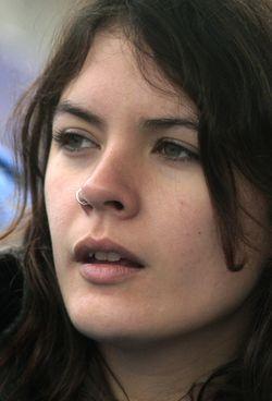 Camila vallejo file photo