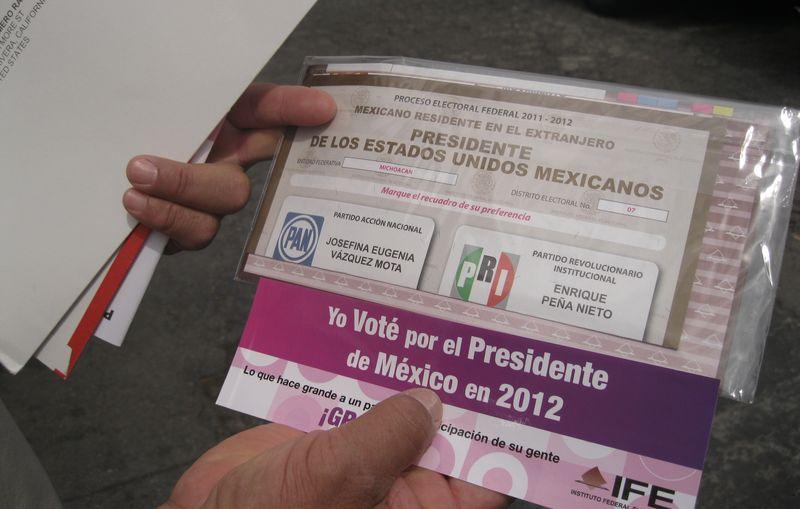 Ramiro romero ballot