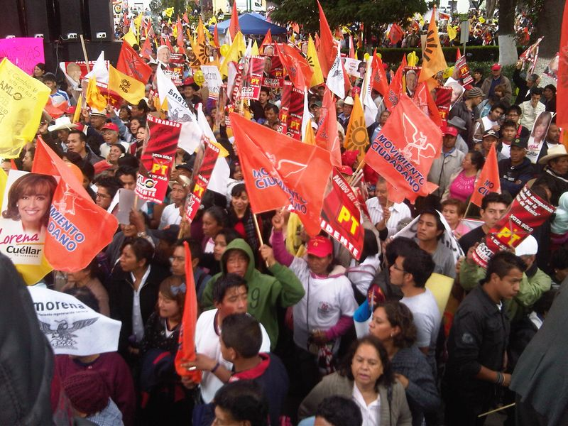 AMLO RALLY IN TLAXCALA