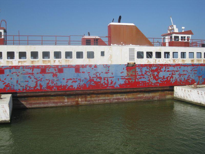 Holbox barge 2