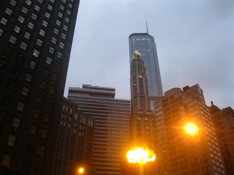 Trump tower skyline