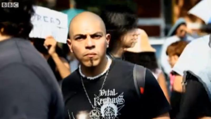 Screen shot bbc video mexico city