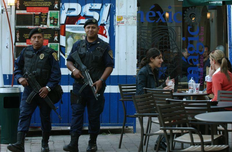 Police women polanco mexico city don bartletti los angeles times
