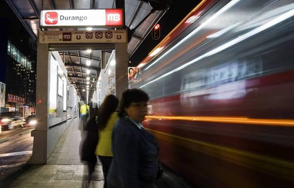 Mexico city metrobus durango latimes