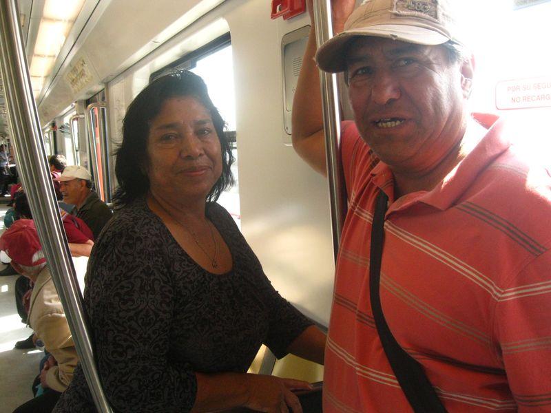 First riders mexico city metro line 12 daniel hernandez