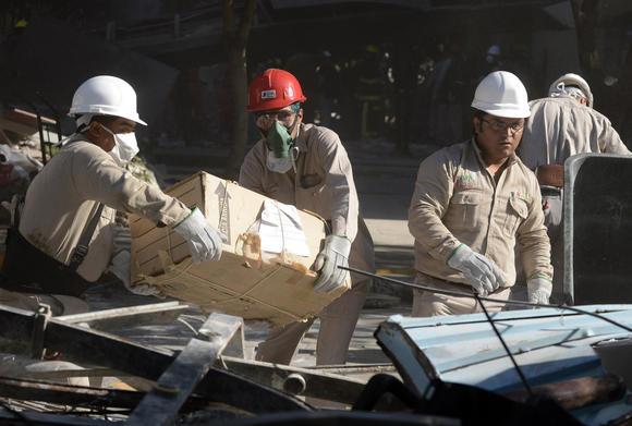 Pemex workers aft alfredo estrella