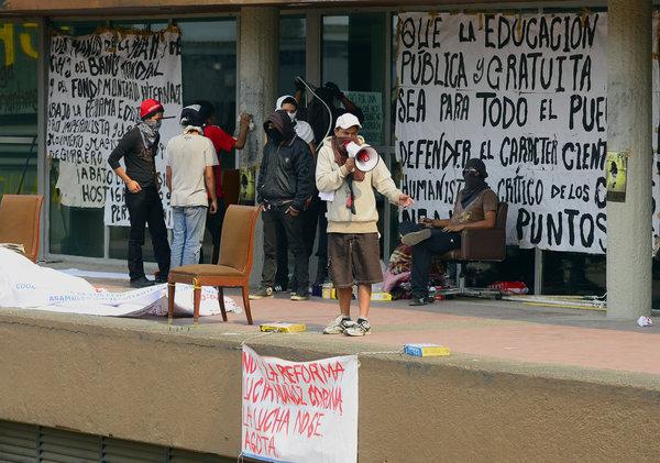 Mexico unam rectoria afp