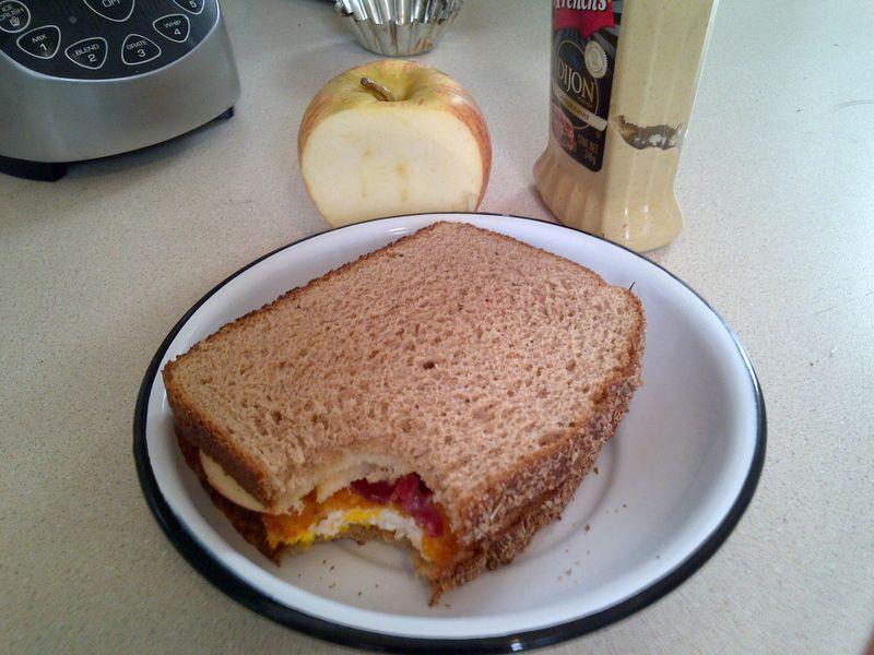 Sandwich de desayuno